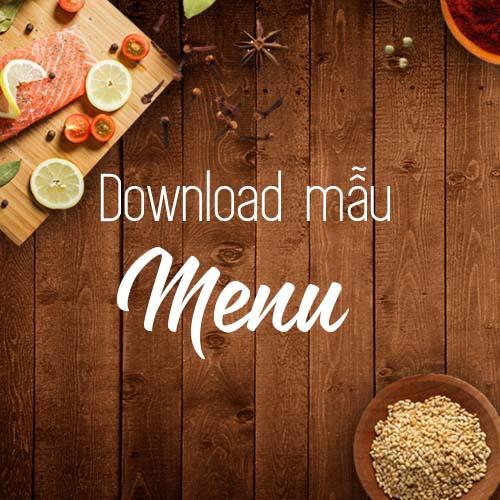 Download miễn phí 22 mẫu menu đẹp tuyệt – Art House